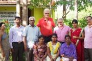 Quelques membres du team Parivarthana